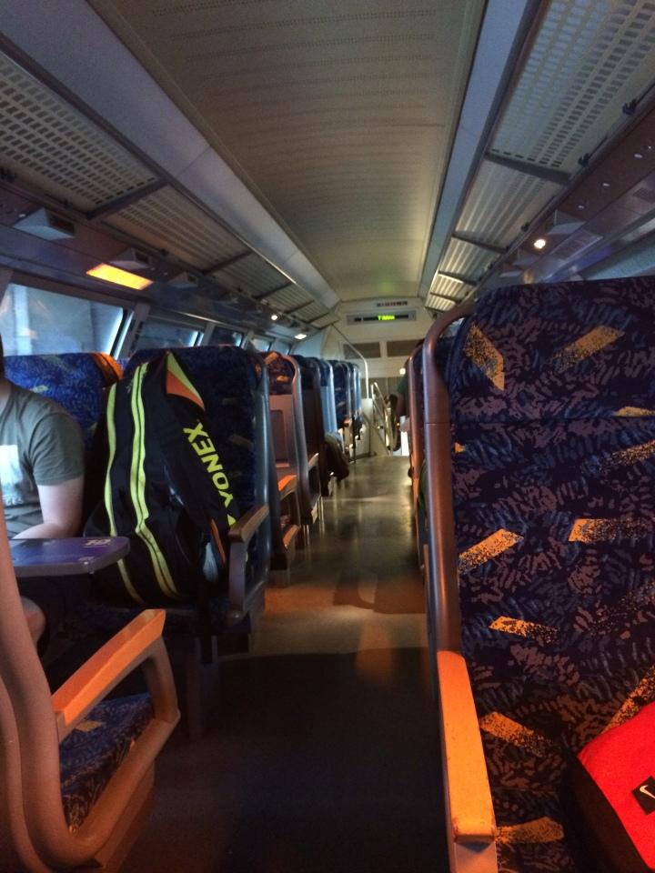 Trem regional de dois andares